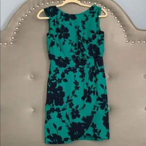 Floral dress with asymmetric cut, 0 petite